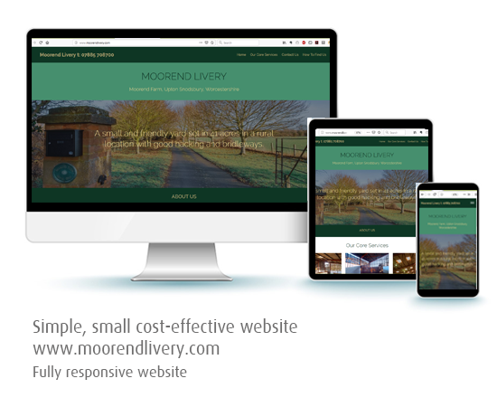 Silver Lining Graphics responsive website example graphic